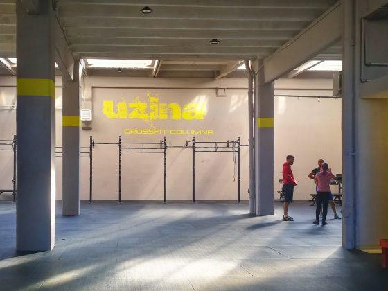 Uzina CrossFit Columna - sala mare - noua locatie de la Timpuri Noi - Splaiul Unirii nr 160, sector 4, Bucuresti