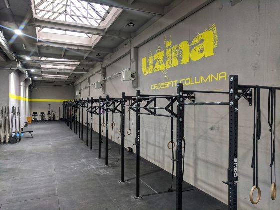 Uzina CrossFit Columna - sala mare si zona de Open gym - noua locatie de la Timpuri Noi - Splaiul Unirii nr 160, sector 4, Bucuresti