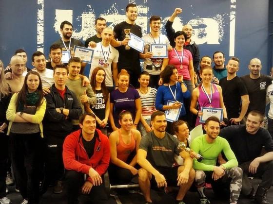 Rezultatele Concursului de CrossFit Uzina Cup 2014