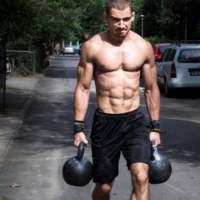 Ionut Trandafir - Antrenor CrossFit si Haltere la Uzina