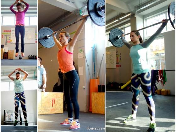 Fetele fac CrossFit la Uzina!