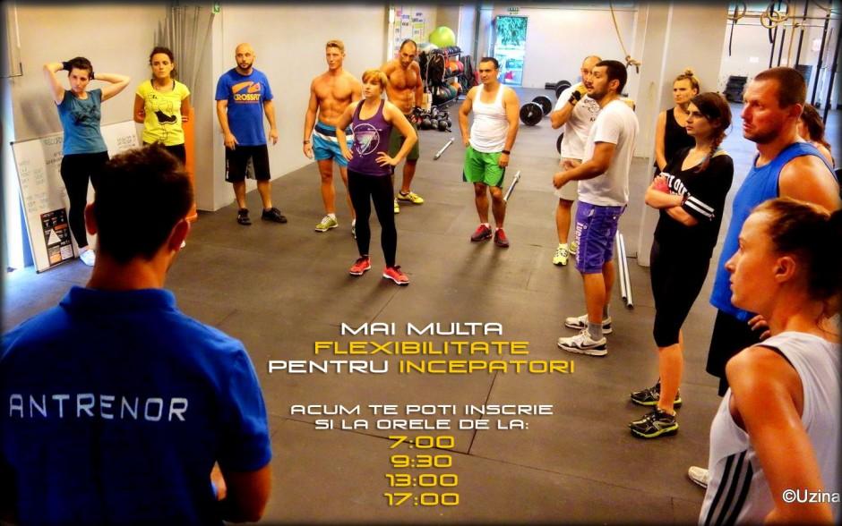 Mai multa flexibilitate pentru incepatorii de CrossFit!