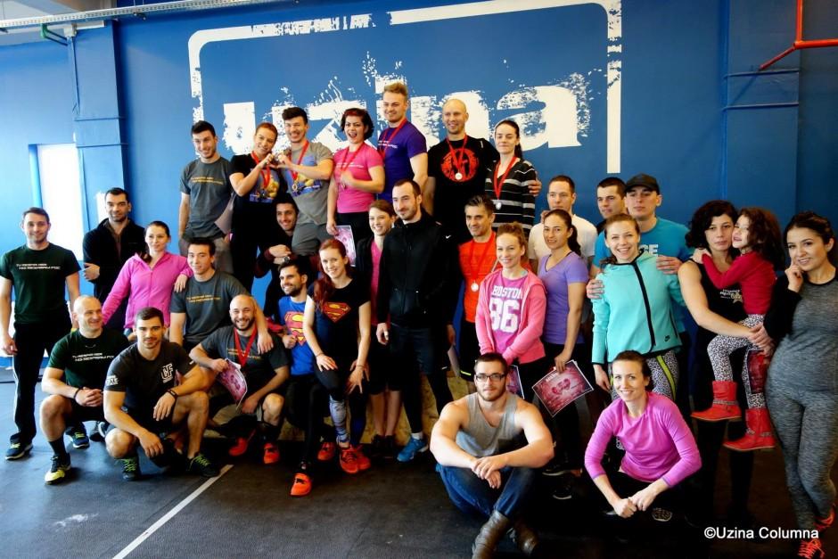 V-Day 2015 - Concurs de Crossfit in Echipa
