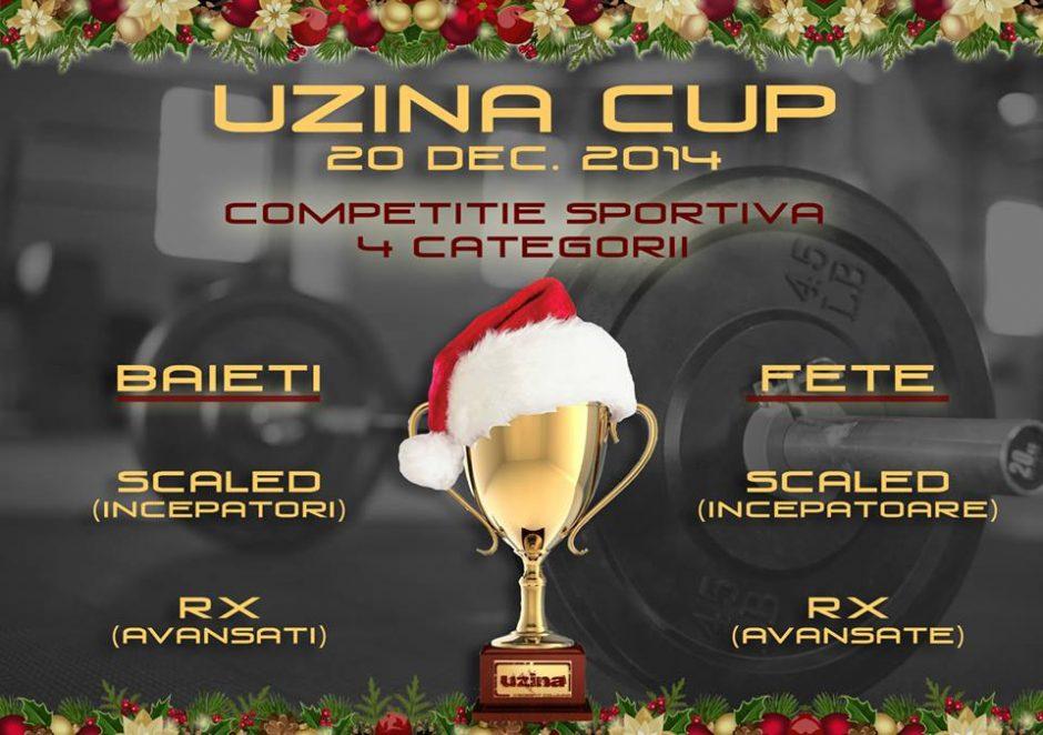 Uzina Cup 2014 - Competitie de Crossfit Individuala - Prima Editie