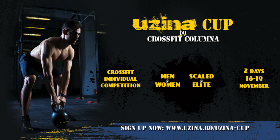 Uzina Cup 2017 - CrossFit Individual Competition in Bucharest, Romania - 3rd Edition