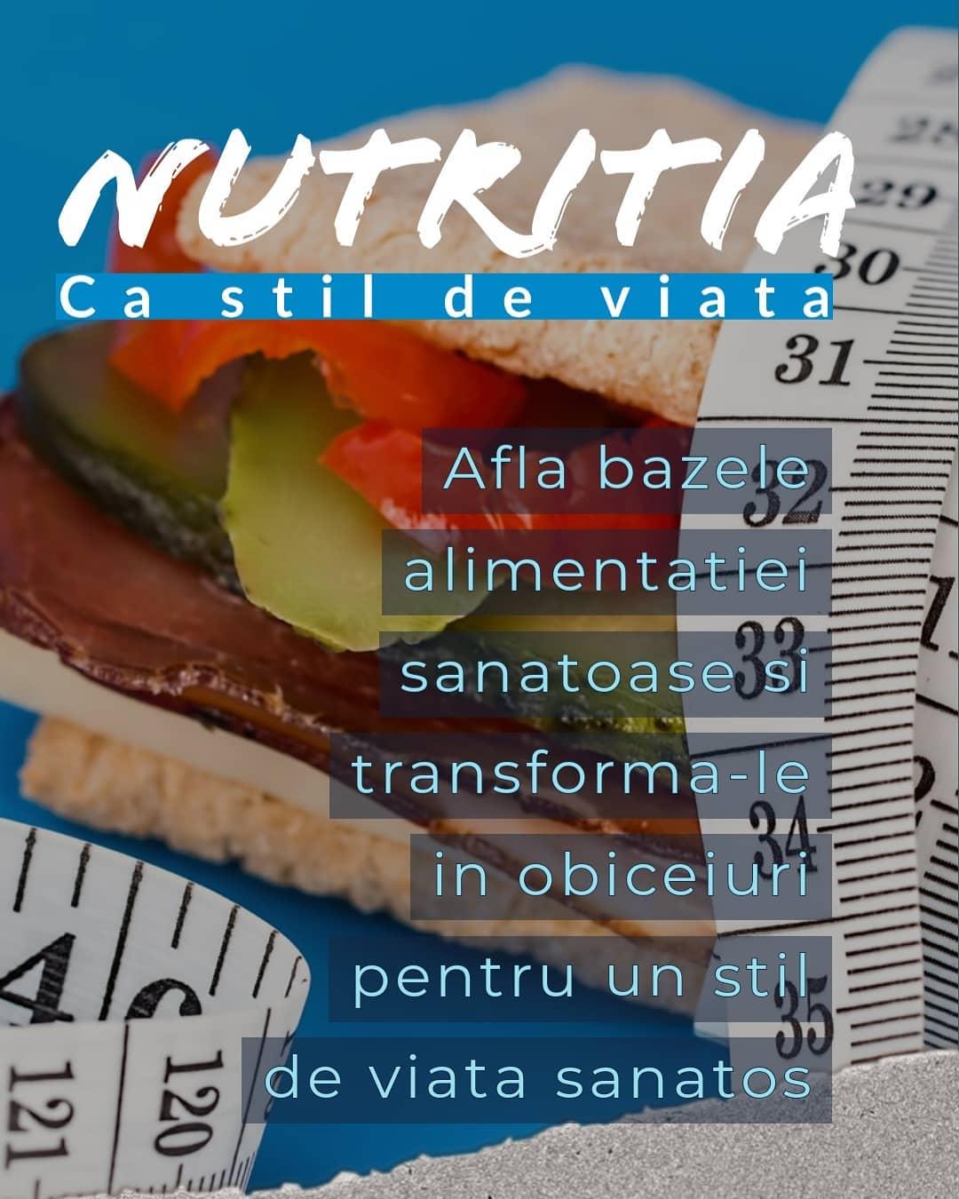 Nutritia ca stil de viata
