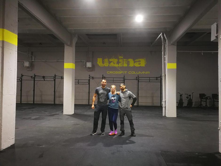 Echipa Uzina CrossFit Columna - George, Andreea si Ionut