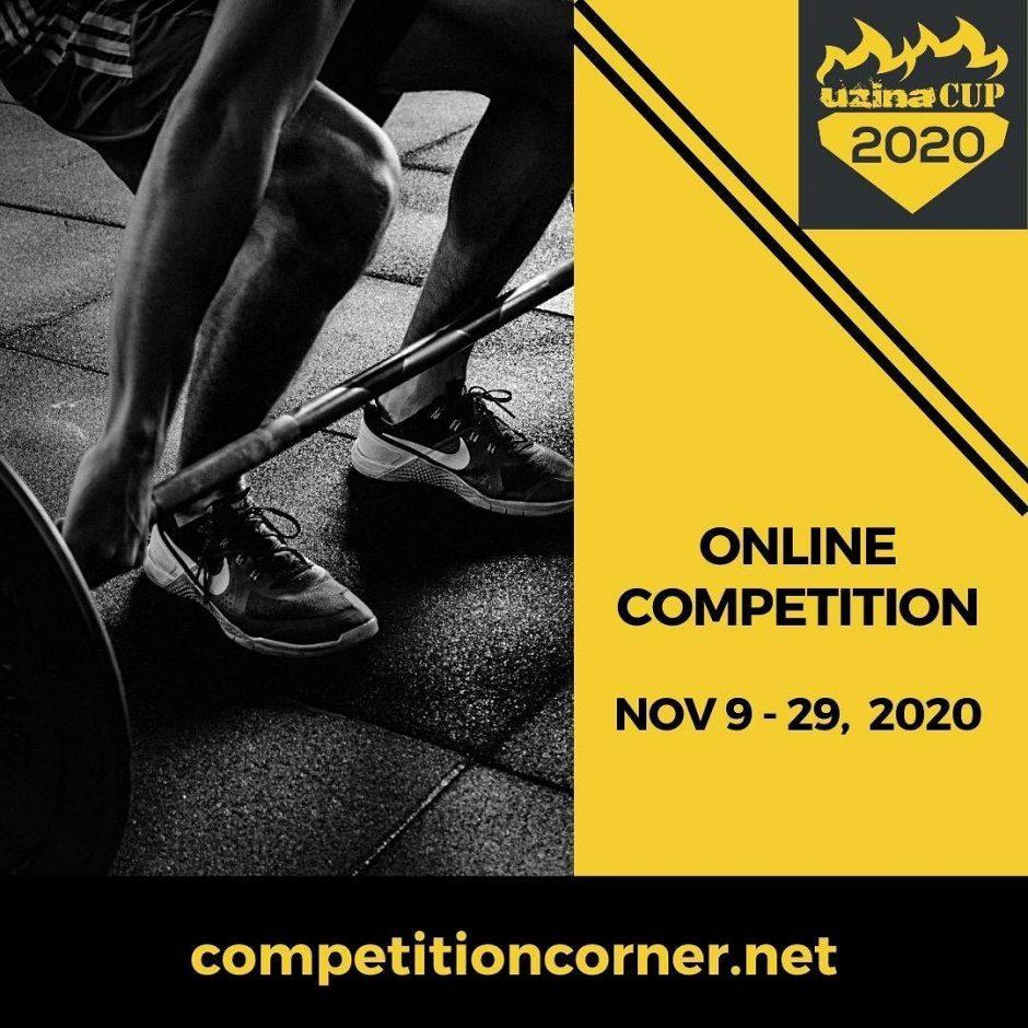 uzina Cup 2020 - Competitie de CrossFit - anul acesta online