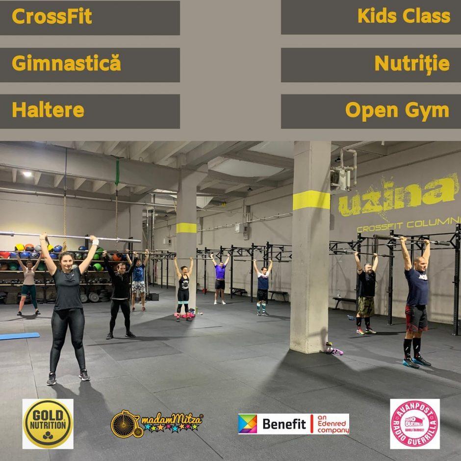Uzina CrossFit Columna - hai la sala si noi te rasplatim cu discounturi